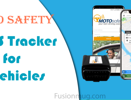 MOTOsafety Magnetic GPS Tracker for car