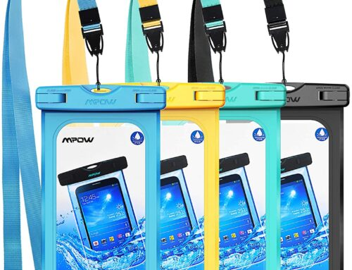 Mpow waterproof phone pouch Review